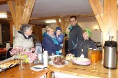 Gäste in der Bauernscheune