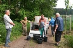 Bewässerungsteam am 27.05.2017