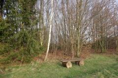 Garten Eden Bank zum Ruhen