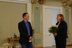 Dank für die hervorragende Arbeit als Vorsitzender des Kulturvereins Andreas Elmer