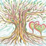 Grafik Hochzeitsbaum