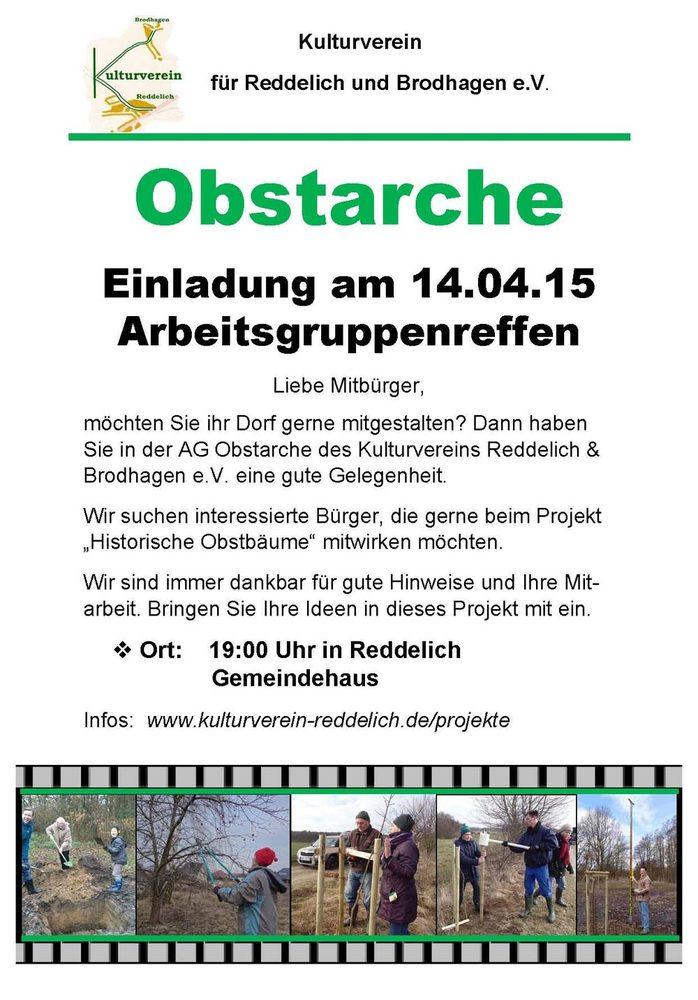 Einladung zum AG-Treffen 04-2015